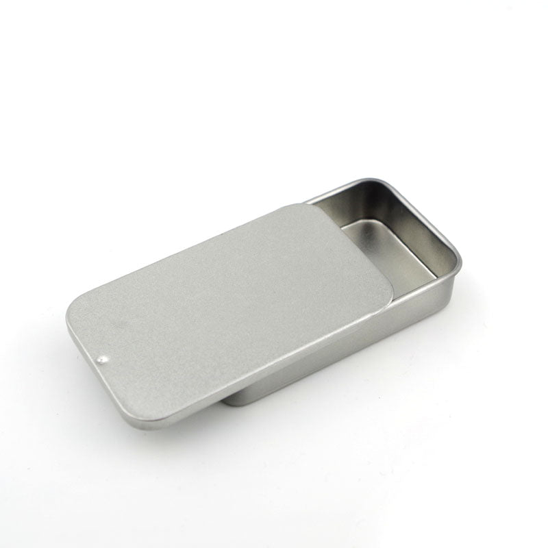 10pcs Mini Slide Metal Storage Box