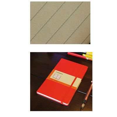 Classic hardcover notebook, 4 kinds inner paper: Blank, line, grid or dots, - A5 or A6