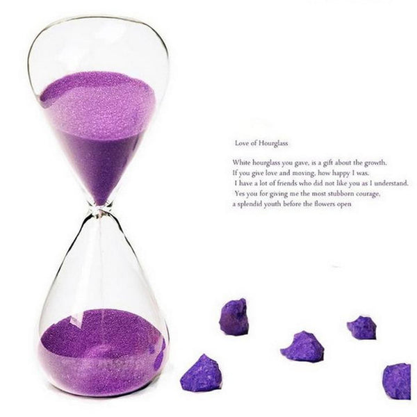 5min / 10min Colorful Hourglass - Sand Clock Timer