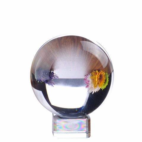 80mm Rare Clear Asian Quartz Crystal Ball