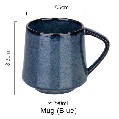 5 Colors Retro Kiln Glazed Coffee Mug