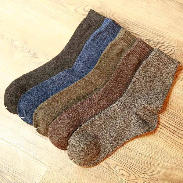 Men's thick cotton socks (5 pairs)