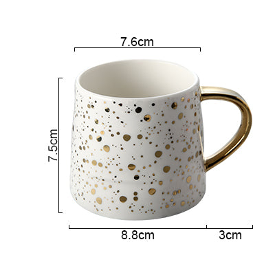Ceramic Coffee Mug Stary Sky Pattern
