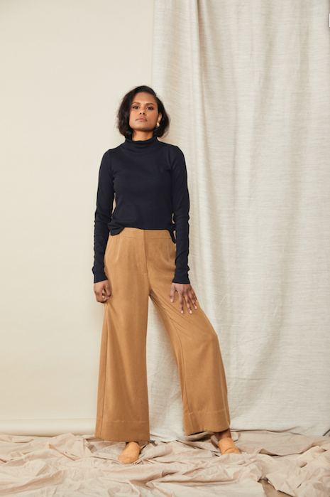 Straight Pant | Toffee $325