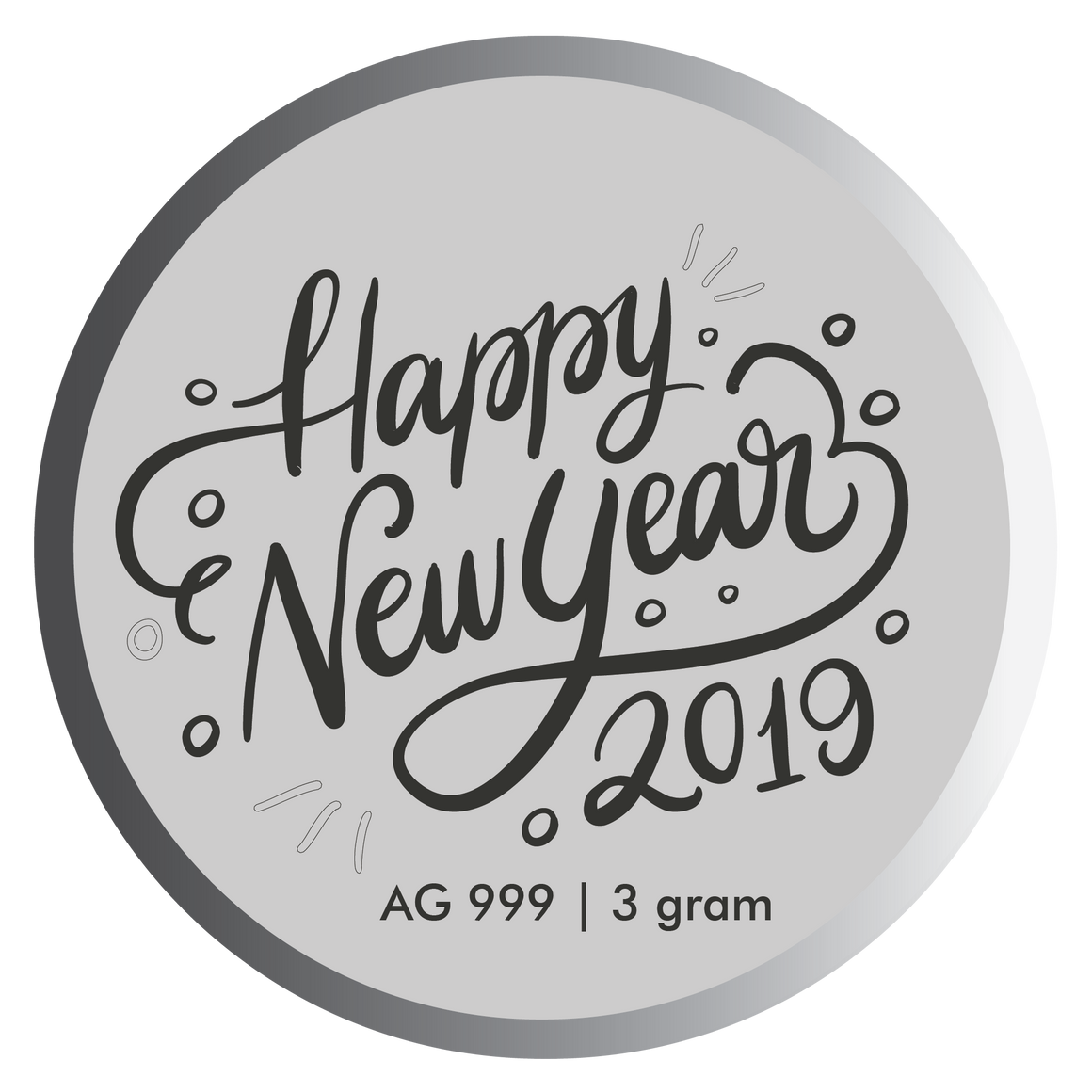Happy New Year Coin 2019