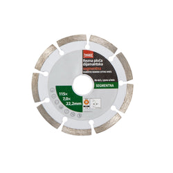 Disc de taiere diamantat BEOROL segmentat 115 - 125 - 230 mm