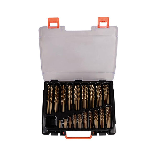 Set burghie metal elicoidale PROJAHN, HSS-Co5% DIN 338 Typ N ECO, 1-10mm, 170 buc/set - sculeshop