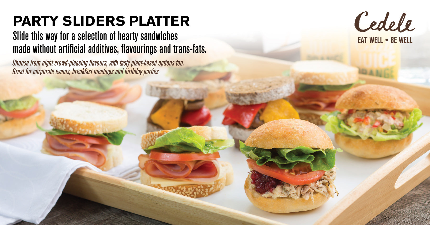 Party Sliders Platter