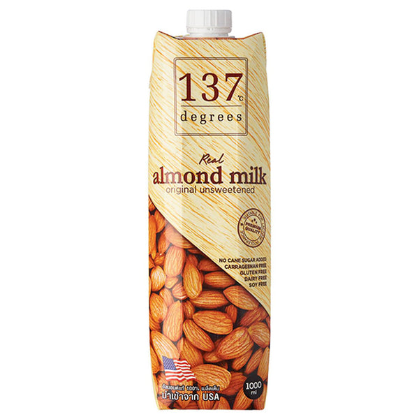 137 Degrees Real Almond Milk Unsweetened | Cedele Market