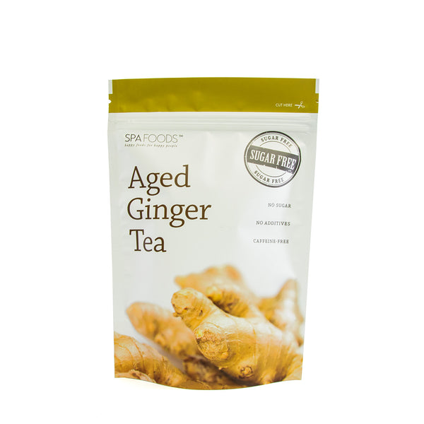Spa Foods Aged Ginger Teabag