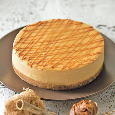 Eggless Caramel Sea Salt Cheesecake | Cedele Market