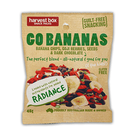 Harvest Box Go Bananas Snack Pack | Cedele Market