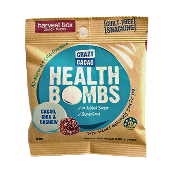 Harvest Box Crazy Cacao Health Bombs | Cedele Market