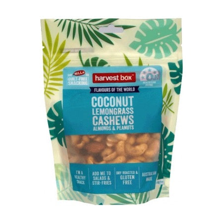 Harvest Box Coconut Lemongrass Cashews Almonds & Peanuts | Cedele Market