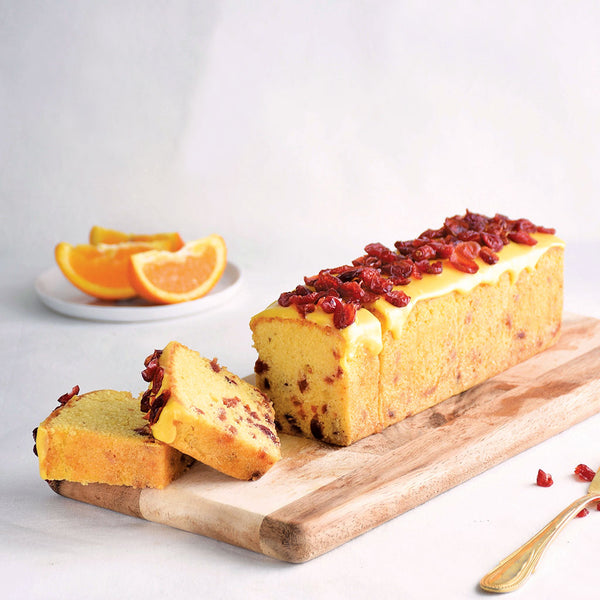 Orange Cranberry Pound Cake | Cedele Market