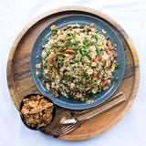 Quinoa Tempeh Brown Rice Salad | Cedele Market