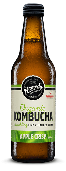 Remedy Apple Crisp Kombucha