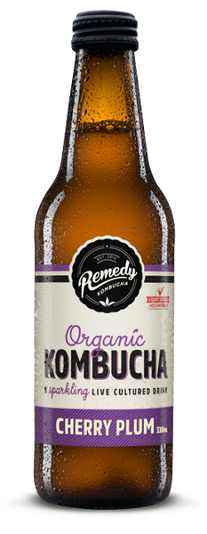 Remedy Cherry Plum Kombucha