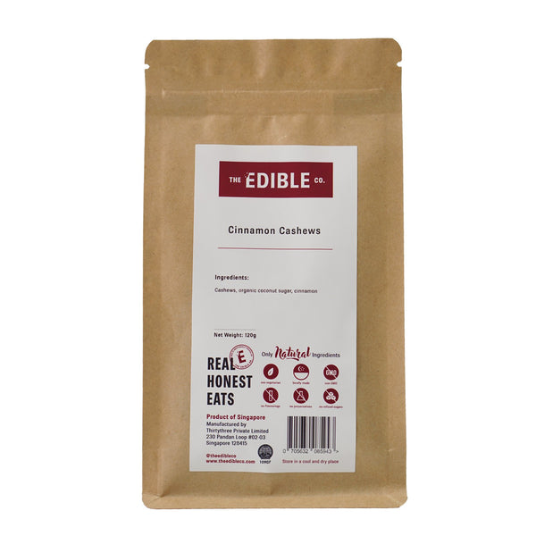 The Edible Co. Cinnamon Cashew