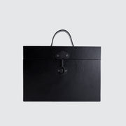 TINCASE 01.17.LB LEATHER BLACK