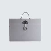 TINCASE 01.17.LG LEATHER GREY