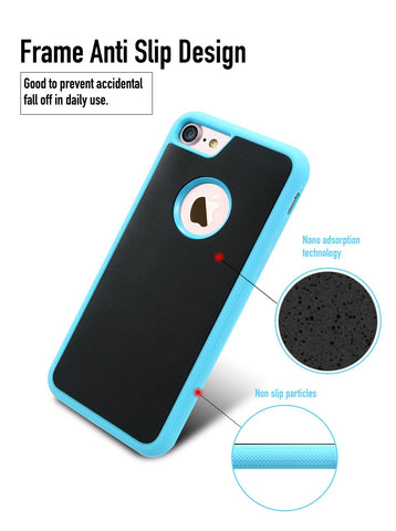 Anti Gravity Selfie Case With Nano Suction Technology