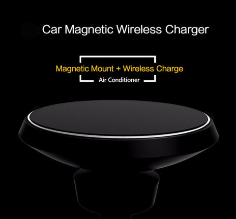 Techron Wireless Car Charger Magnetic Holder