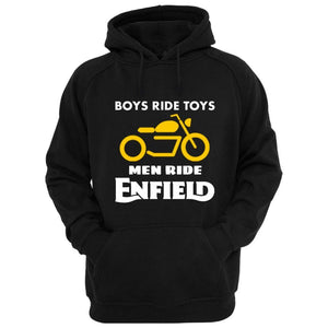 Boys ride Toys Enfield official black Hoodie