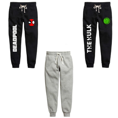 Dead Pool & Hulk combo of 3 Joggers