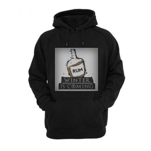 Rum Winter is Coming Black BOX Hoodie