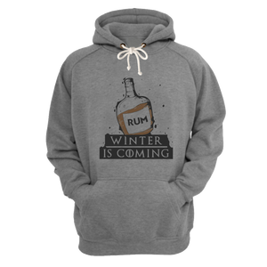Winter is coming grey Premium hoodie