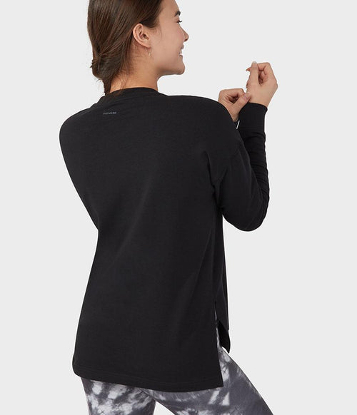Manduka Performance Sweatshirt Long Sleeve - Black
