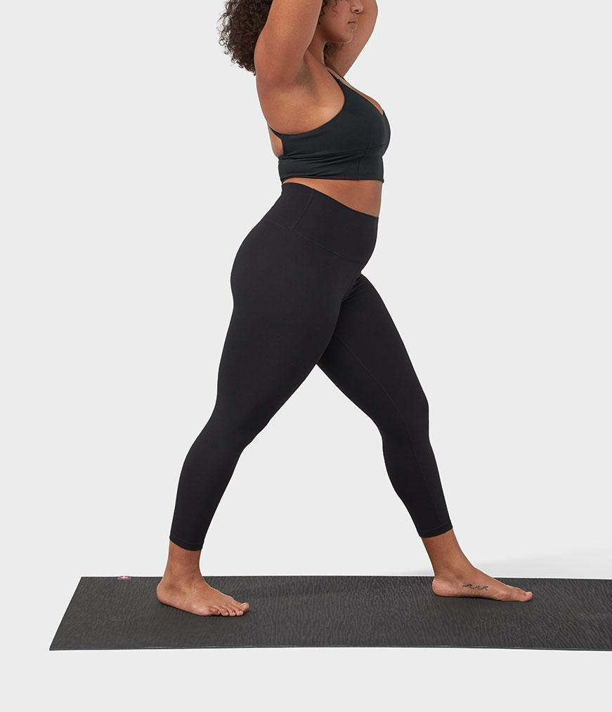 Manduka Performance Legging High Rise With Media Pocket - Black