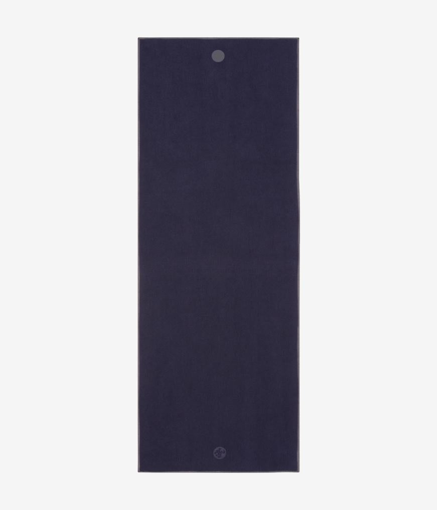 Manduka Yogitoes Skidless Yoga Mat Towel - Midnight 2.0