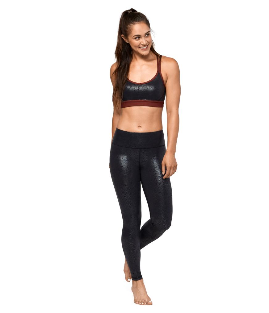 Manduka Essential Legging - Black Pebble