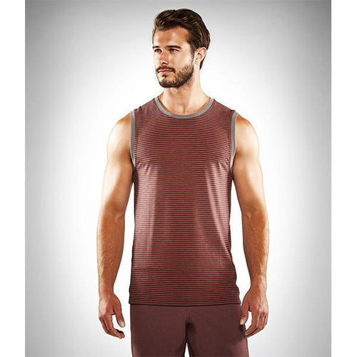 Manduka Transcend Performance Stripe Tank