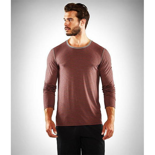 Manduka Transcend Performance Stripe Long Sleeve Tee