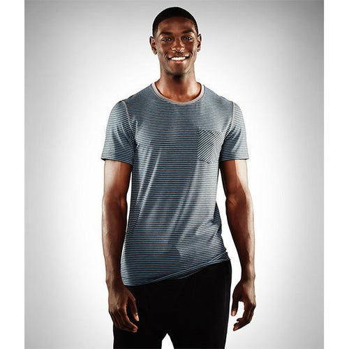 Manduka Transcend Performance Stripe Tee