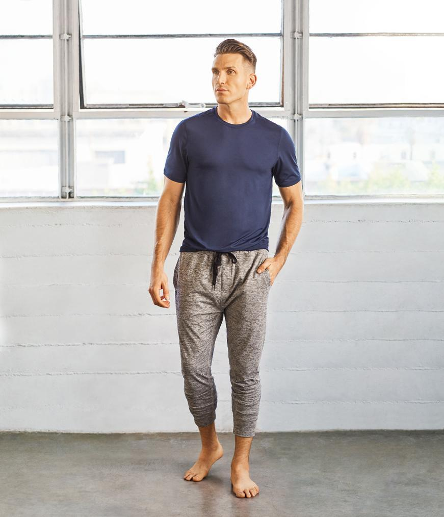 Manduka Utility Knit Pant - Dark Grey Heather