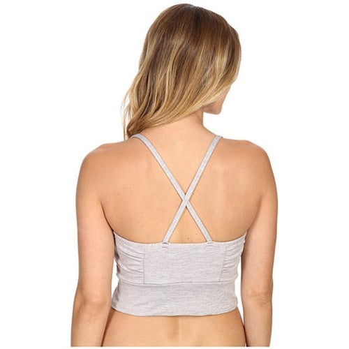 Manduka Wrap Up Bralette - Grey