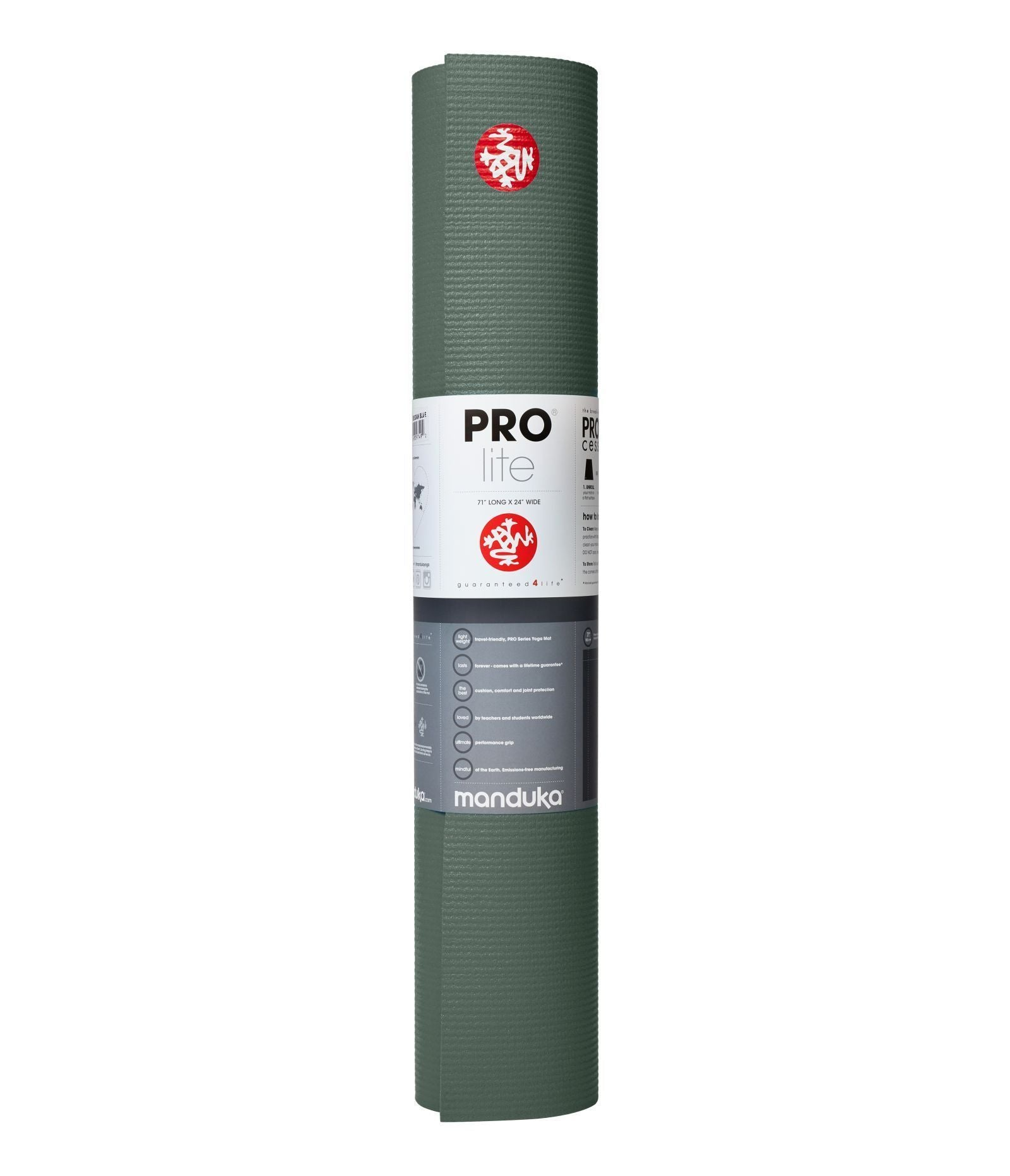Manduka PROlite® Yoga Mat Solid - Black Sage (Pre-order 5 May 2021)