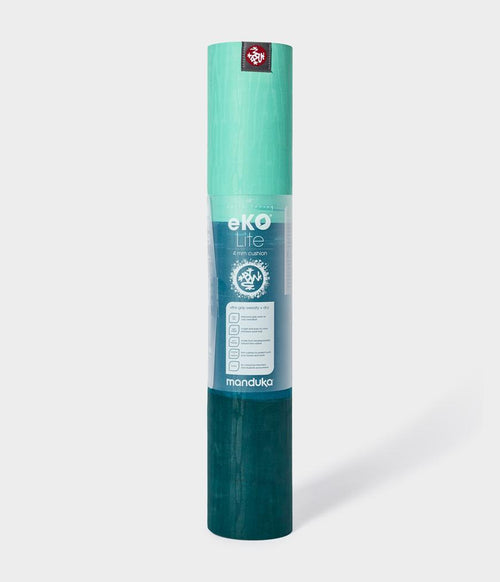 Manduka eKO Lite Yoga Mat 68'' 4mm - Thrive 3 Stripe