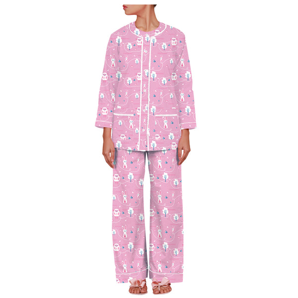 Dandelion- Cotton - Pink - Sheep - Pajama Set