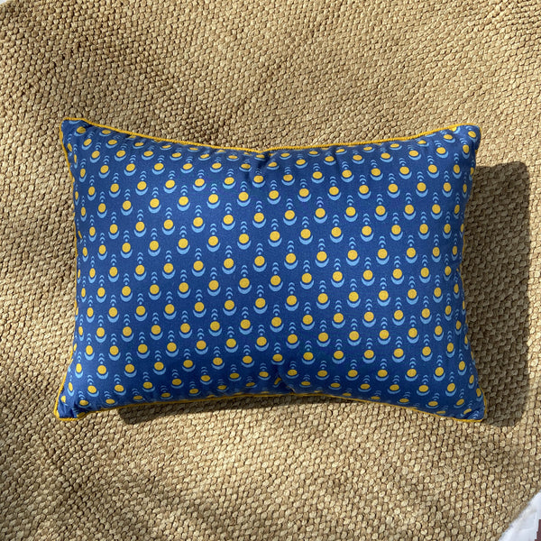 Half Moon Skies Kidney Cushion