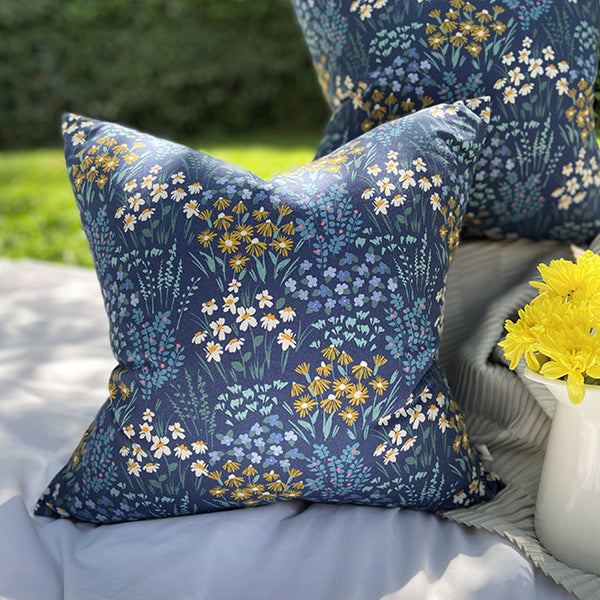 Meadows Squared Cushion