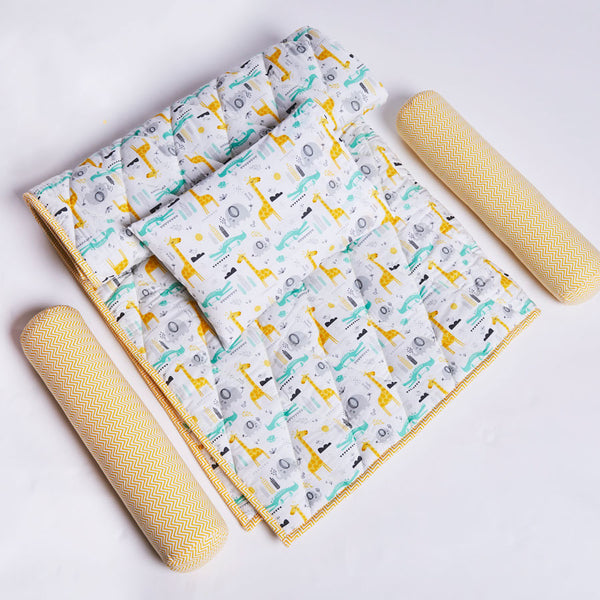 Giraffe Cotton Layette Set