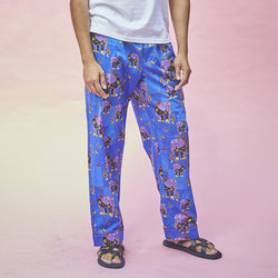 Dandelion - Blue - Printed Cotton - Elephant - Pajamas
