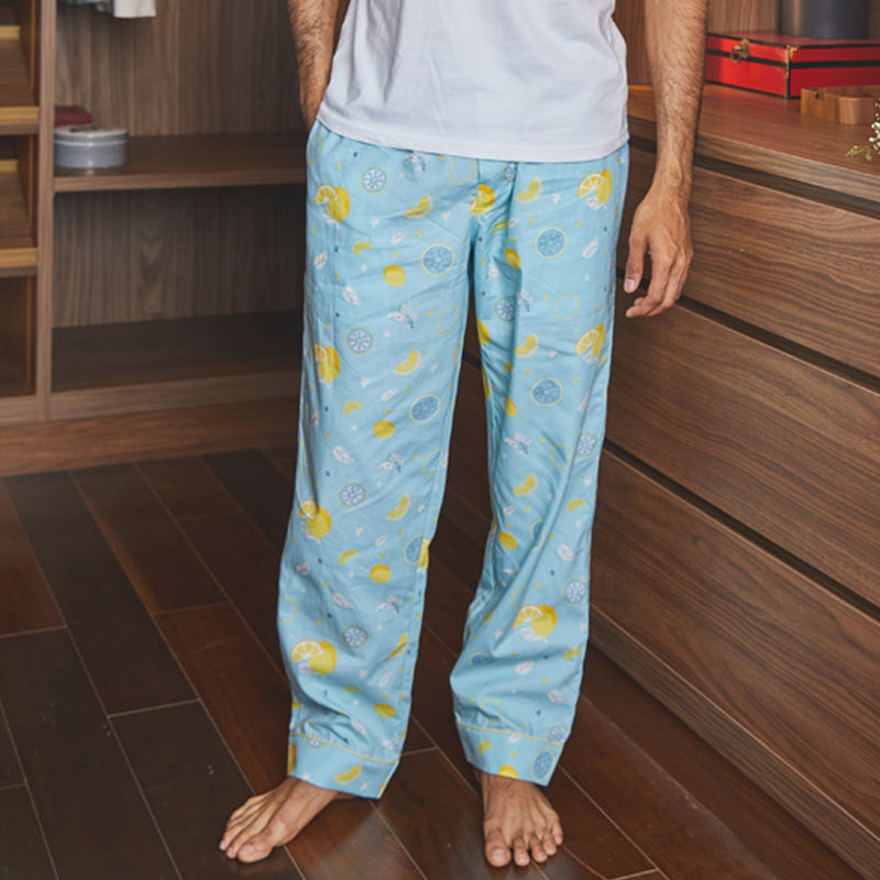 Citric Burst Cotton Pyjama