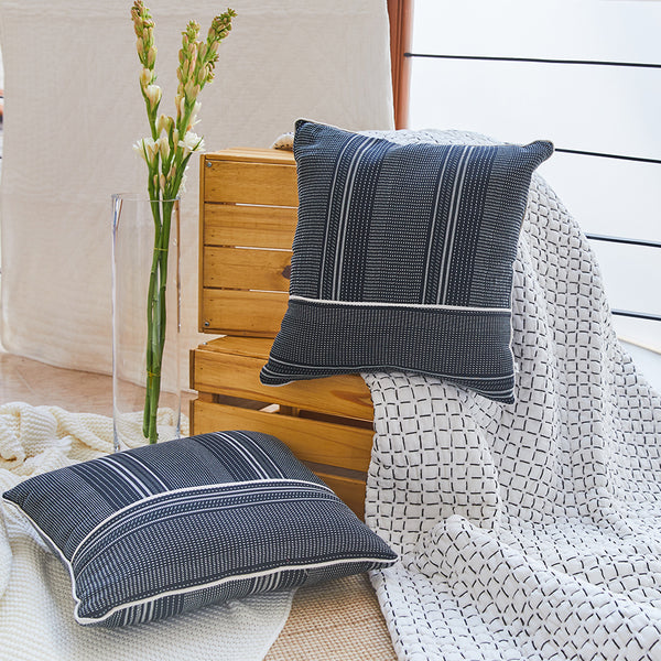 Salt & Pepper Woven Cushion