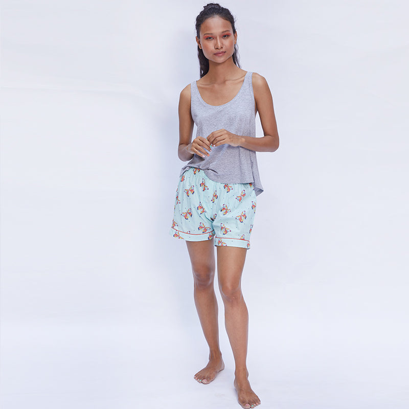 Women Cotton Only Shorts